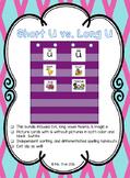 Short U vs. Long U - Picture Sort (Color & BW) - 5 Days!