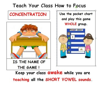 Short VOWEL sounds: Use these GAMES to REALLY know them !