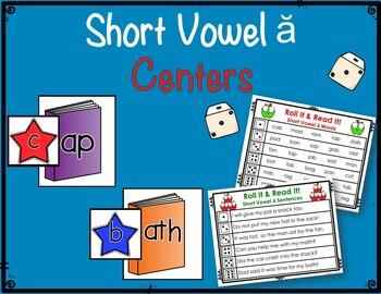 Short Vowel ă Centers & Activities