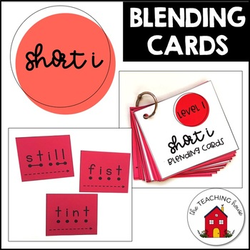 Short Vowel I Blending Cards