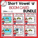 Digital Short Vowel A CVC Boom Cards℠ Bundle