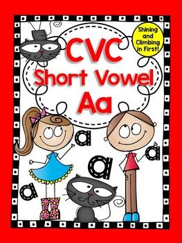 Short Vowel A CVC Word Work