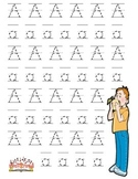 Short Vowel A  Handwriting Practice