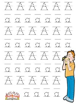 Short Vowel A  Handwriting Practice