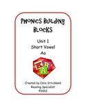 Short Vowel A Phonics Building Blocks Program