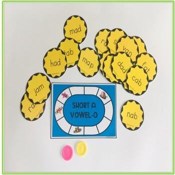 Short Vowel A Phonics Sound Kit
