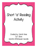 Short Vowel A Story Preview