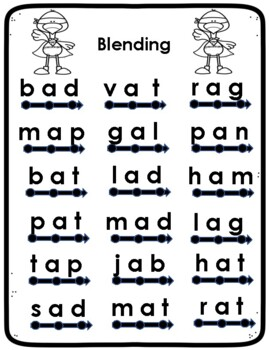 Short Vowel A packet