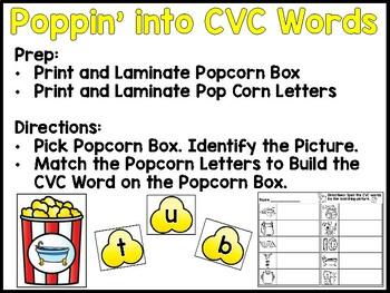 Short Vowel Activities!