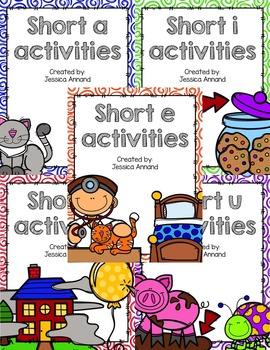 Short Vowel Activities Bundle