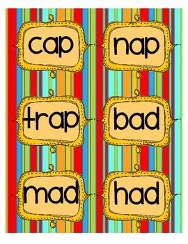 Short Vowel Activities  **Read the Room, Word Sort, Cut and Paste**