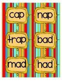 Short Vowel Activities  **Read the Room, Word Sort, Cut an