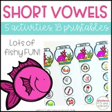 Short Vowels Activities and Printables