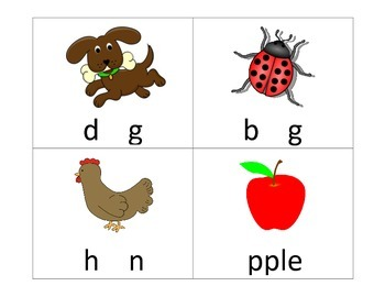 Short Vowel Activity Cards : Fill in the Missing Vowel