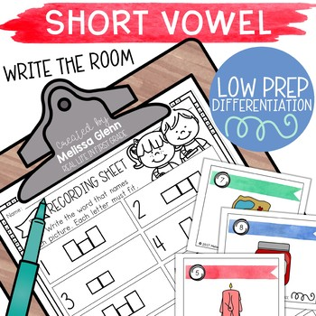 Short Vowel Activity (Differentiated and Low Prep)