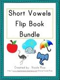 Short Vowel Activity Flip Book Bundle