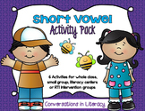 Short Vowel Activities Pack- Foldable and Activities