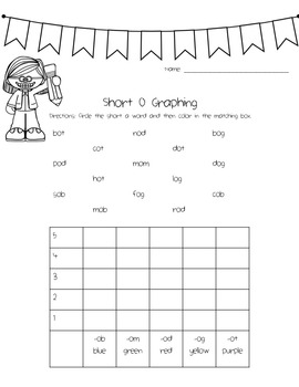 Short Vowel Activity Packet