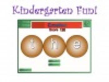 Short Vowel Anagram Game for Kindergarten