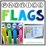 Short Vowel Anchor Chart and Classroom Flags