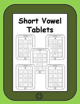 Short Vowel Apps Printable Tablets