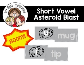 Short Vowel Asteroid Blast Game