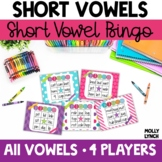 Short Vowel BINGO for Small Groups!