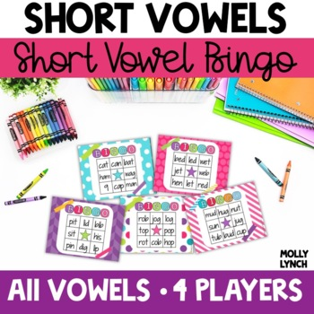 Short Vowel BINGO for Small Groups!