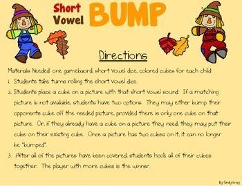 Short Vowel BUMP