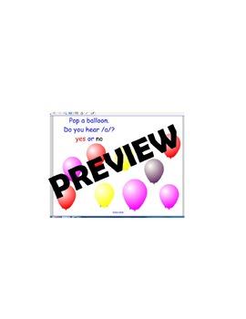 Short Vowel Balloon Pop