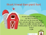 Short Vowel Barnyard Sort