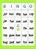 Short Vowels Bingo