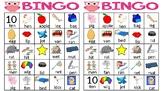 Short Vowel Bingo (A,E,I)