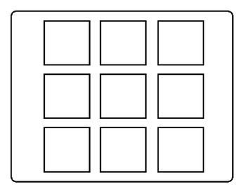 Short Vowel Bingo Board Game