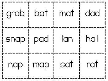 Short Vowel Bingo {Game boards and cards}