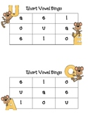 Short Vowel Bingo for Small Group Instruction