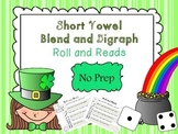Short Vowel Blend and Digraph Roll and Read