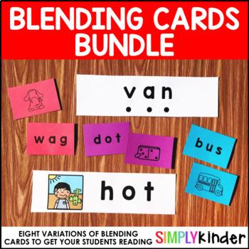 Blending Card Bundle - Short and Long Vowel Blending Cards