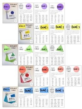 Short Vowel Blending Cards *BUNDLE*
