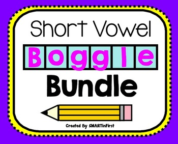 Short Vowel Boggle Bundle