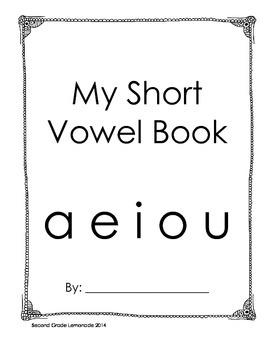 Short Vowel Book