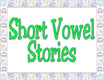 Short Vowel Books