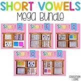 Short Vowels Mega Bundle   Short Vowels Worksheets
