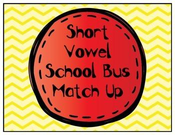 Short Vowel Bus Match up