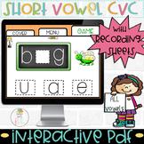 DIGITAL Short Vowel Game