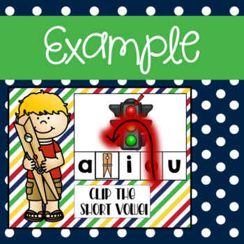 Short Vowel CVC  Clip Activity using Google Slides and Classroom
