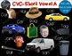 Short Vowel CVC Clip Art Short A Real Clips Photo & Artistic Digital Stickers