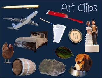 Short Vowel CVC Clip Art Short E Real Clips Photo & Artistic Digital Stickers