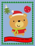 Short Vowel CVC Games for Christmas!