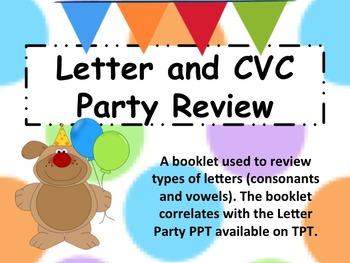 Short Vowel CVC Party